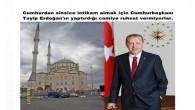 Cumhurdan sinsice intikam almak için Cumhurbaşkanı Recep tayip Erdoğan'ın yaptırdığı camiye ruhsat vermiyorlar.