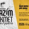 """ATAŞEHİR'DE """"ŞİİR"""" GİBİ 4 GÜN!"""