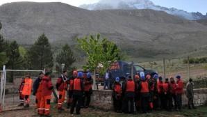 Kaybolan dağcının cenazesi bulundu