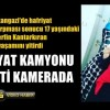 Sultangazi'de Hafriyat Kamyonu Dehşeti Kamerada