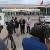 Başkan Aydın, FETÖ davasını takip etmek için Silivri'ye gitti