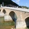 """Mostar Köprüsü'nde """"15 Temmuz'u unutma, unutturma"""" pankartı açıldı"""