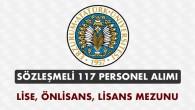 Atatürk Üniversitesi Sözleşmeli 117 Personel Alımı İlanı