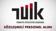 Türkiye İstatistik Kurumu Sözleşmeli Personel Alımı İlanı