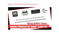 Sabancı Üniversitesi İhanet İçinde mi ?