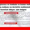 Gaziosmanpaşa da Uyuşturucu olayında yargı ve hukuk un skandal karar belgesi