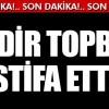 İBB Başkanı Kadir Topbaş istifa etti!