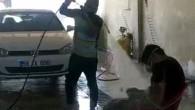 Oto yıkamacıdan çalışanına ilginç ceza