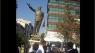 Gaziosmanpaşa da gündem yaratmak için Atatürk heykelinin yerini değiştiriyorlar.