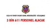 CEZA ve TEVKİF EVLERİ 3161 Sözleşmeli Personel Alacak,