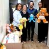 Kumbarada toplanan oyuncaklar köy okullarına gönderildi