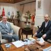 Bilal Erdoğan, Başkan Remzi Aydın'ı ziyaret etti