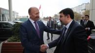 İstanbul Valisi Vasip Şahin, Başkan Altunay'ı Makamında Ziyaret Etti