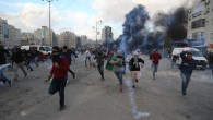 İsrail polisinden Filistinlilere saldırı. İsrail polisi, Trump'ın Kudüs kararını protesto eden Filistinlilere saldırdı..