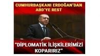 Cumhurbaşkanı Erdoğan: (ABD'nin Kudüs planı) Bu olay İsrail'le diplomatik ilişkilerimizi koparır