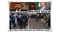 Mevlüt Uysal ve Murat Hazinedar sizin aranızdaki kavga milleti ilgilendirmez halk hizmet edene oy veriyor.