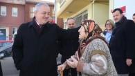 Başkan Remzi Aydın'dan mahalle ziyaretleri