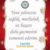 Küçükköy Esnaf Odasının 2018 Mesajı