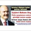 İçişleri Bakanı Soylu: Polis uyuşturucu satıcısını gördüğü zaman ayağını kırsın suçu bana atsın