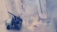 Türkiye'ye roket atan sivil kıyafetli teröristler böyle görüntülendi