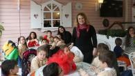 Minik öğrenciler Zahir Cafe ziyaret etti