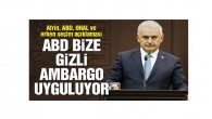 Başbakan BBC'ye konuştu: 'Amerika, Türkiye'ye zaten gizli ambargo uyguluyor'