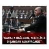 Cumhurbaşkanı Erdoğan: Ülkemizde yapılacak hiçbir sistemi acil durum dışında dışarıdan almayacağız