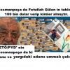 Gaziosmanpaşa da Fetullah Gülen in  tablosuna 100 bin dolar verip kimler almıştır.