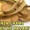 Altının gramı bugün ne kadar? – 24 Nisan Kapalıçarşı çeyrek altın fiyatları…