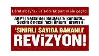 AKP'de gündem: Kongre öncesi 'sınırlı kabine revizyonu'
