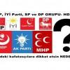 CHP, İYİ Parti, SP ve DP GRUPU- HDP nin içindeki kafatasçılara dikkat etsin NEDEN Mİ