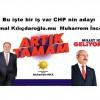 Bu işte bir iş var CHP nin adayı Kemal Kılıçdaroğlu.mu Muharrem İnce mi?