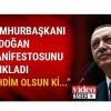 Cumhurbaşkanı Erdoğan: Ahdim olsun ki…
