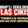 MHP'li vekil: Erdoğan'a oy vermeyin, tabuta son çiviyi çaktırmayın