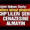İçişleri Bakanı Soylu: CHP'lileri şehit cenazesine almayın