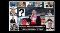 İSTANBUL İKİNCİ BÖLGEDE 24 Haziran seçimlerin de vekiller yükü soyluya verdi kendileri ortalık da yoklar.