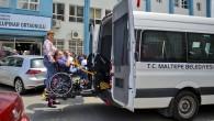 Maltepe'de engelliler ve yaşlılar sandıklara taşındı