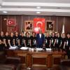 Budapeşte Festivalinde Sakarya'yı Temsil Eden Bayan Halk Oyunları Ekibi Başkan İspiroğlu'nu Ziyaret etti.