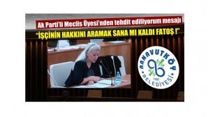Ak Partili Meclis Üyesi: Konuşma hakkım elimden alınıyor
