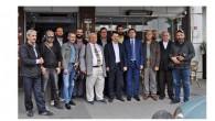 Eyüp CHP belediye başkan aday adayı Emin Atmaca yerel basın mensupları ile buluştu.