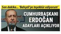 AK Parti'de büyük gün… Cumhurbaşkanı Erdoğan adayları açıklıyor
