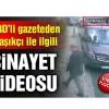 ABD basınından Kaşıkçı cinayeti videosu