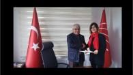 CHP' den hacıbektaş'tan Kadın belediye başkan aday adayı Şaziment Akkuş