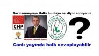 Gaziosmanpaşa Halkı Mustafa Kemal Özenç in aday adaylığını Halka soruyoruz