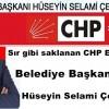 Eyüp CHP 'nin adayı belli oldu Sır gibi saklanan CHP Eyüp Sultan belediye başkan adayı, Hüseyin Selami Çelebioğlu