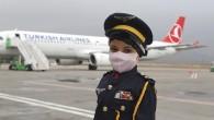 Lösemi hastası Meryem'in pilot olma hayali gerçek oldu