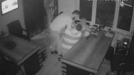 6 soyguncu bekçiyi öldüresiye böyle dövdü