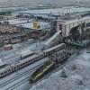 Ankara'da Yüksek Hızlı Tren kontrol lokomotifine çarptı