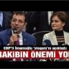 CHP'nin İstanbul adayı Ekrem İmamoğlu seçim sloganını açıkladı!