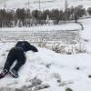 Van'da yabancı uyruklu donmuş bulundu
